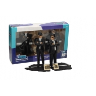 Blues Brothers - Pack 2 statuettes Movie Icons Jake & Elwood 18 cm
