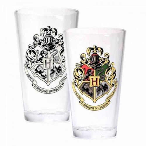Harry Potter - Verre effet thermique Hogwarts Crest
