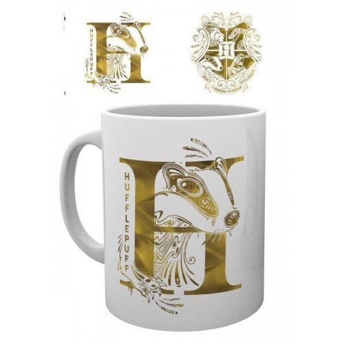 Harry Potter - Mug Hufflepuff Monogram