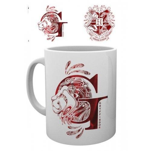 Harry Potter - Mug Gryffindor Monogram