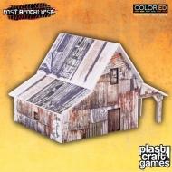 Post Apocalypse ColorED - Maquette pour jeu de figurines 28 mm Old Barn