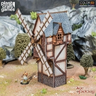 Age of Fantasy ColorED - Maquette pour jeu de figurines 28 mm Old Man's Windmill