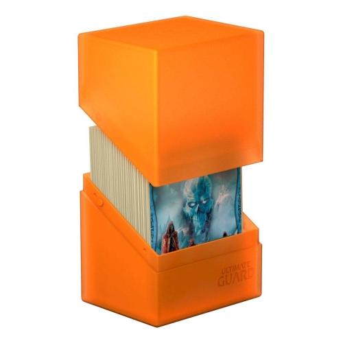 Ultimate Guard - Boulder Deck Case 80+ taille standard Poppy Topaz