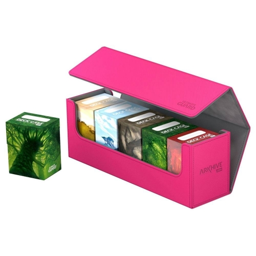 Ultimate Guard - Boite pour cartes Arkhive 400+ taille standard XenoSkin Rose
