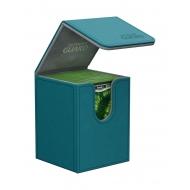 Ultimate Guard - Boite pour cartes Flip Deck Case 100+ taille standard XenoSkin Bleu Petrole