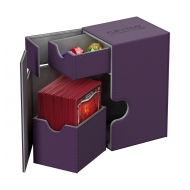 Ultimate Guard - Flip'n'Tray Deck Case 80+ taille standard XenoSkin Violet