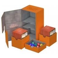 Ultimate Guard - Boite pour cartes Twin Flip'n'Tray Deck Case 200+ taille standard XenoSkin Orange