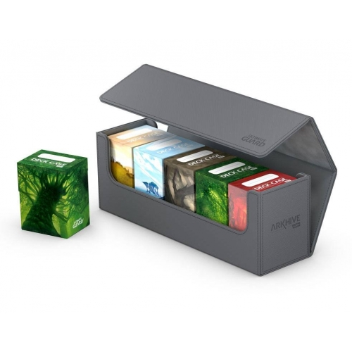 Ultimate Guard - Boite pour cartes Arkhive 400+ taille standard XenoSkin Gris