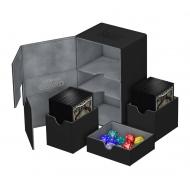 Ultimate Guard - Boite pour cartes Twin Flip'n'Tray Deck Case 160+ taille standard XenoSkin Noir