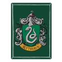 Harry Potter - Panneau métal Slytherin 21 x 15 cm