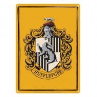 Harry Potter - Panneau métal Hufflepuff 21 x 15 cm