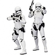 Star Wars Episode VII - Pack 2 statuettes ARTFX+ First Order Stormtrooper 18 cm