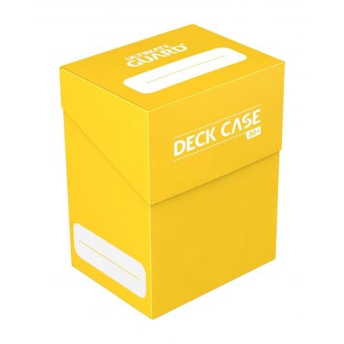 Ultimate Guard - Boite pour cartes Deck Case 80+ taille standard Jaune
