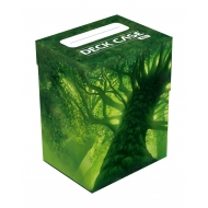 Ultimate Guard - Boite pour cartes Basic Deck Case 80+ taille standard Lands Edition Foret