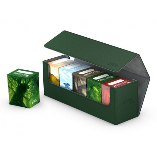 Ultimate Guard - Boite pour cartes Arkhive 400+ taille standard XenoSkin Vert