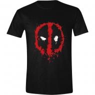 Deadpool - T-Shirt Splatter Logo