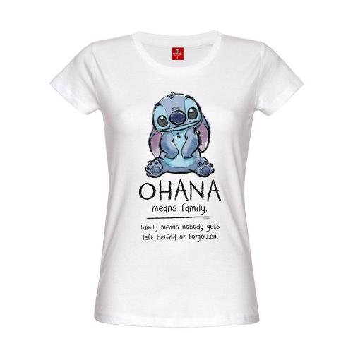 Lilo & Stitch - T-Shirt femme Ohana Means Family