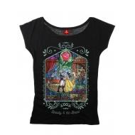 La Belle et la Bête - T-Shirt femme Window Girl