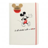 Mickey Mouse - Cahier A5 It All Started With A Mouse
