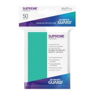 Ultimate Guard - 50 pochettes Supreme UX Sleeves taille standard Turquoise