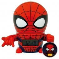 Marvel - Réveil lumineux BulbBotz Spider-Man 14 cm