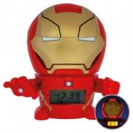 Marvel - Réveil lumineux BulbBotz Iron Man 14 cm