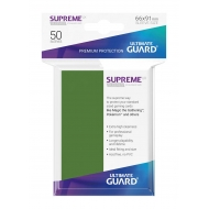 Ultimate Guard - 50 pochettes Supreme UX Sleeves taille standard Vert