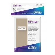 Ultimate Guard - 50 pochettes Supreme UX Sleeves taille standard Sable Mat