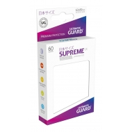 Ultimate Guard - 60 pochettes Supreme UX Sleeves format japonais Blanc