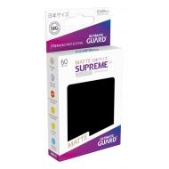 Ultimate Guard - 60 pochettes Supreme UX Sleeves format japonais Noir Mat