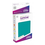 Ultimate Guard - 60 pochettes Supreme UX Sleeves format japonais Bleu Petrole Mat