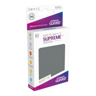 Ultimate Guard - 60 pochettes Supreme UX Sleeves format japonais Gris Fonce Mat