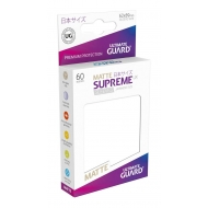 Ultimate Guard - 60 pochettes Supreme UX Sleeves format japonais Blanc Mat