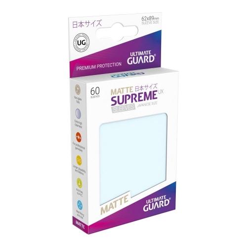 Ultimate Guard - 60 pochettes Supreme UX Sleeves format japonais Transparent Mat