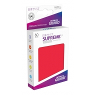 Ultimate Guard - 60 pochettes Supreme UX Sleeves format japonais Rouge