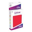 Ultimate Guard - 60 pochettes Supreme UX Sleeves format japonais Rouge