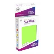 Ultimate Guard - 60 pochettes Supreme UX Sleeves format japonais Vert Clair Mat