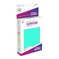 Ultimate Guard - 60 pochettes Supreme UX Sleeves format japonais Turquoise Mat
