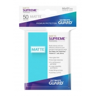 Ultimate Guard - 50 pochettes Supreme UX Sleeves taille standard Aigue-marine Mat