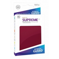 Ultimate Guard - 80 pochettes Supreme UX Sleeves taille standard Bourgogne Mat