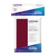 Ultimate Guard - 50 pochettes Supreme UX Sleeves taille standard Bourgogne
