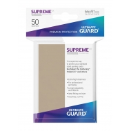 Ultimate Guard - 50 pochettes Supreme UX Sleeves taille standard Sable
