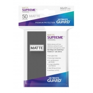 Ultimate Guard - 50 pochettes Supreme UX Sleeves taille standard Gris Fonce Mat