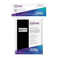 Ultimate Guard - 50 pochettes Supreme UX Sleeves taille standard Noir Mat