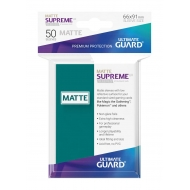 Ultimate Guard - 50 pochettes Supreme UX Sleeves taille standard Bleu Petrole Mat