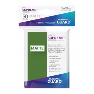 Ultimate Guard - 50 pochettes Supreme UX Sleeves taille standard Vert Mat