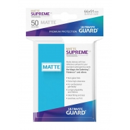 Ultimate Guard - 50 pochettes Supreme UX Sleeves taille standard Bleu Clair Mat