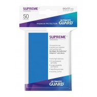 Ultimate Guard - 50 pochettes Supreme UX Sleeves taille standard Bleu Roi