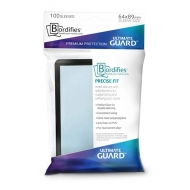 Ultimate Guard Bordifies - 100 Precise-Fit Sleeves taille standard Noir