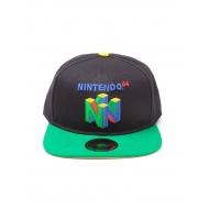Nintendo - Casquette hip hop Snapback N64 Logo